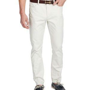 NEW Vineyard Vines Canvas 5 Pocket Slim Pants YK